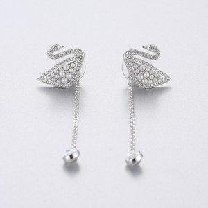 SWAROVSKI ICONIC SWAN earrings